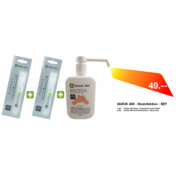 Quick Aid - Desinfektion - Set